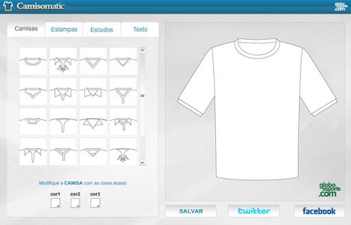 Crie uniformes dos times de futebol na internet