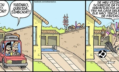 churrasco na casa do vizinho