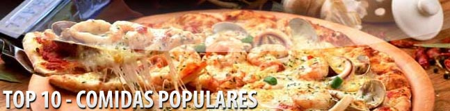 As 10 comidas mais populares do mundo