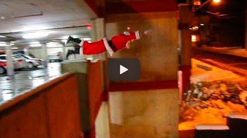 Como o Papai Noel entrega os presentes de Natal?