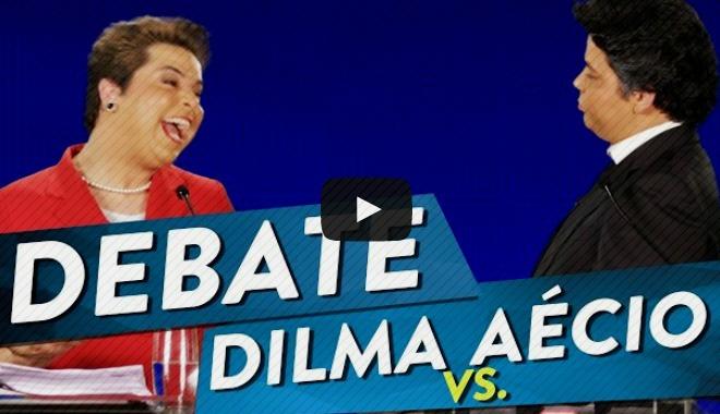 Debate: Dilma e Aécio