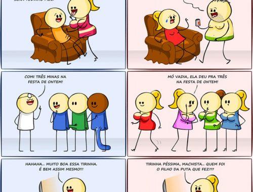 diferença básica entre homens mulheres