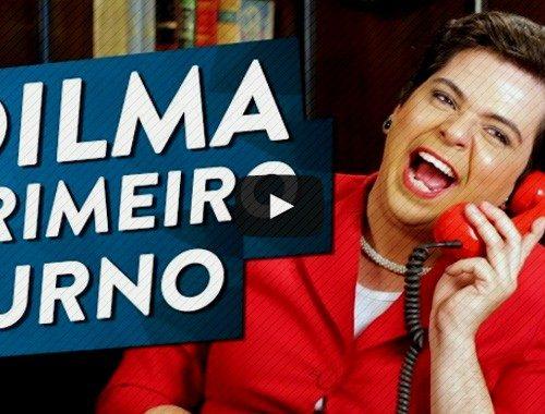 dilma revoltada primeiro turno eleicões 2014