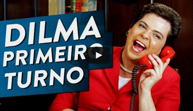 Dilma revoltada com o resultado das eleições 2014