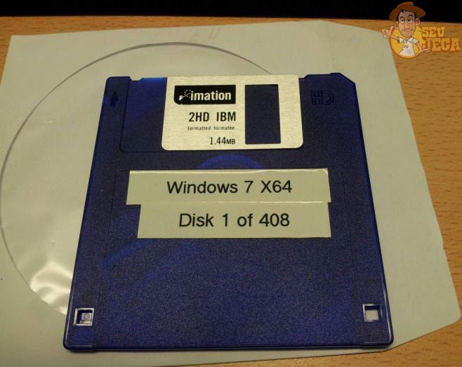 disquete do windows 7