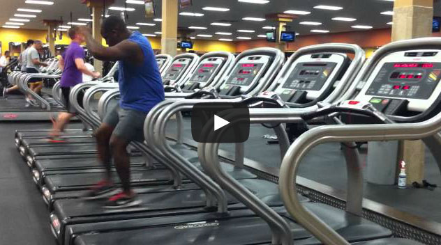 Treadmill Dance: a dança da esteira