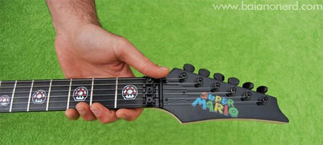 Guitarra do Super Mario