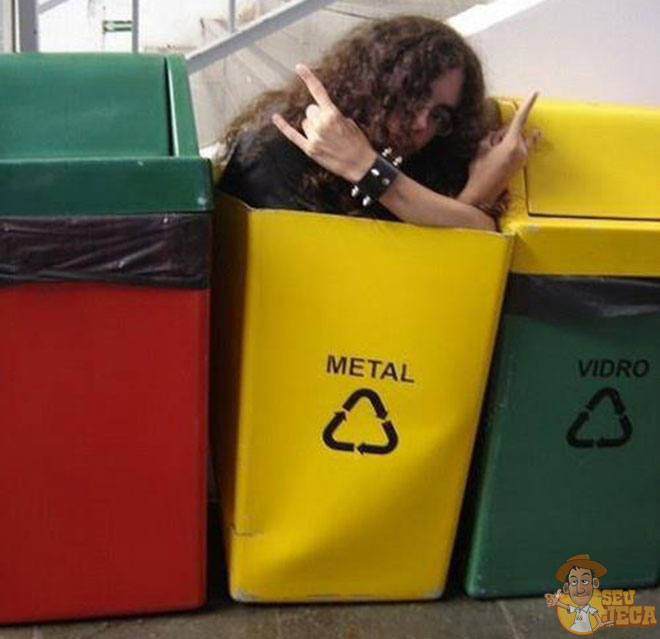 Heavy Metal reciclado
