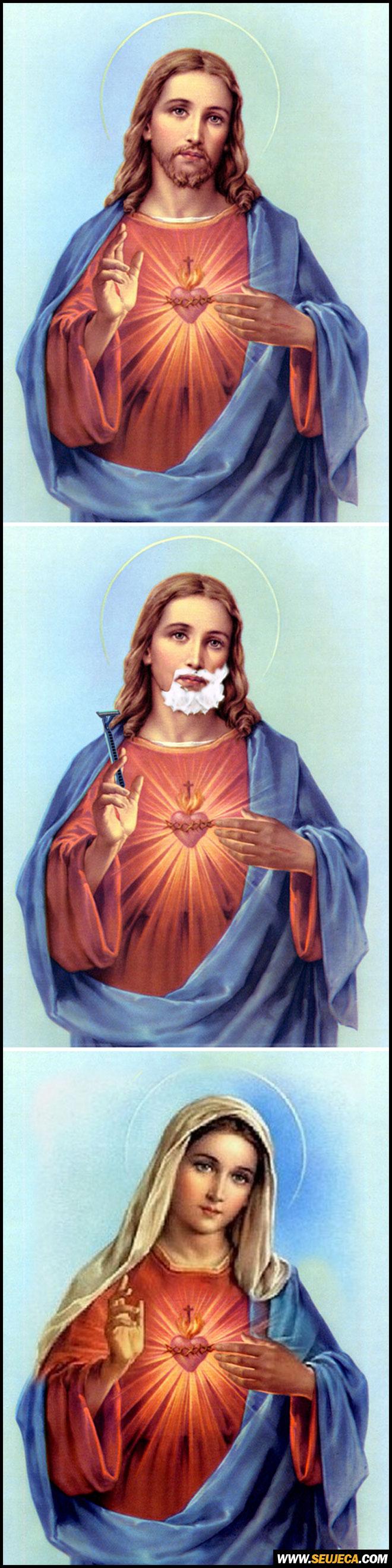 Jesus Cristo sem barba