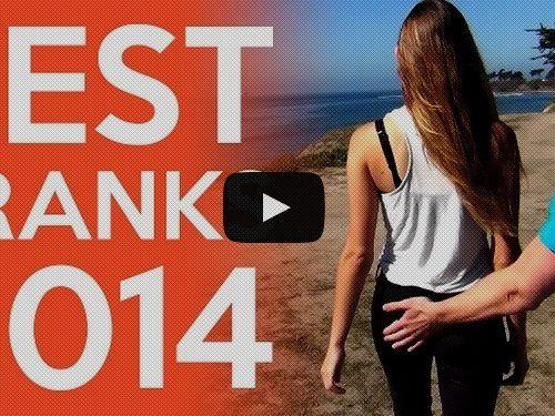 as melhores pegadinhas de 2014