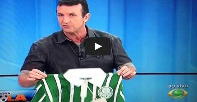 Neto manda seleção brasileira tomar no cu ao vivo