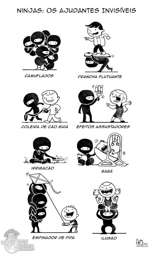 Ninjas: Os Ajudantes Invisíveis