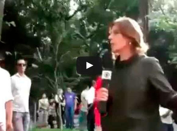 O povo não é bobo, abaixo a rede Globo