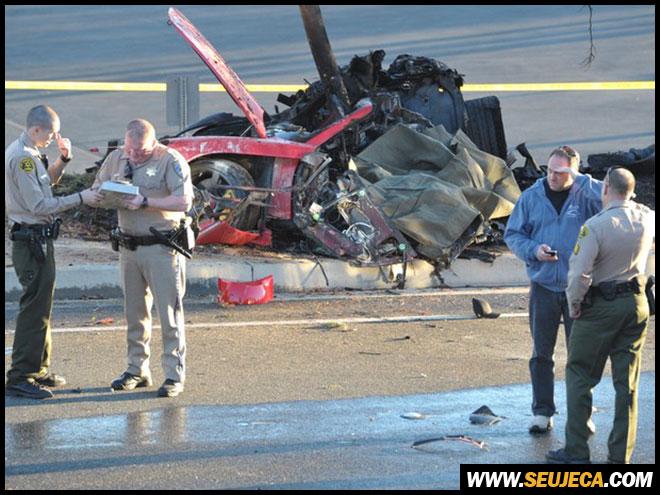 paul walker morre em acidente de carro na california