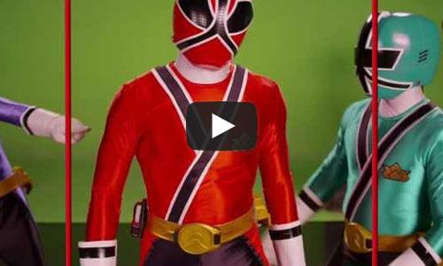 Os Power Rangers estão de volta