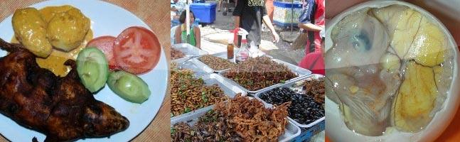 8 comidas bizarras ao redor do mundo