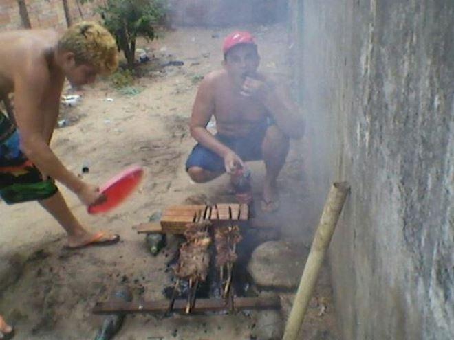 Presos fazem churrasco em cadeia no Pará