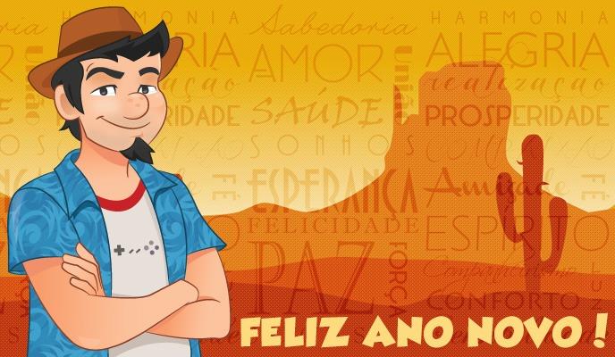 Seu Jeca deseja a todos Feliz Ano Novo!