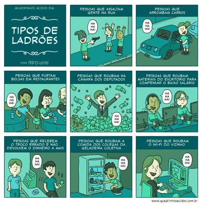 Tipos de ladrões