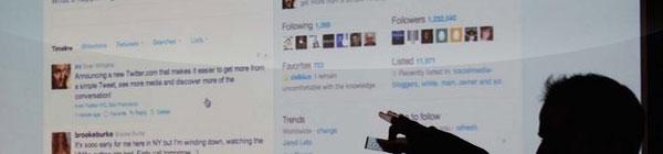 Ferramenta de busca do Twitter lista perfis mais influentes